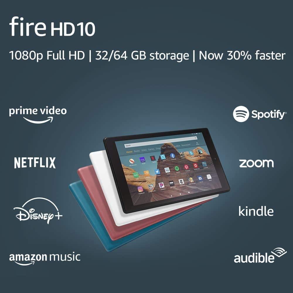 Tableta Amazon Fire HD 10 (2019) 32GB Octa-Core Full HD Black
