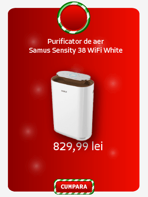Purificator de aer Samus Sensity 38 WiFi White