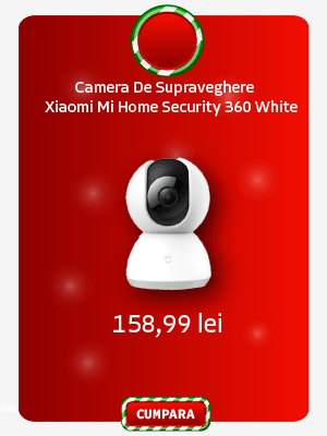 Camera De Supraveghere Xiaomi Mi Home Security Camera 360 White