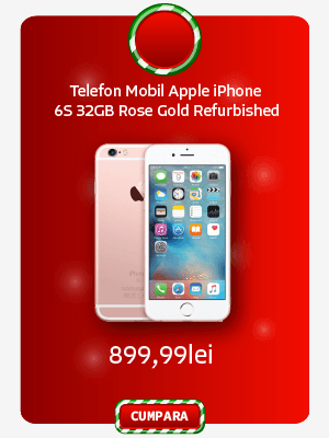 Telefon Mobil Apple iPhone 6S 32GB A Grade Rose Gold Refurbished