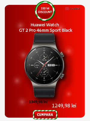 Smartwatch Huawei Watch GT 2 Pro 46mm Sport Black